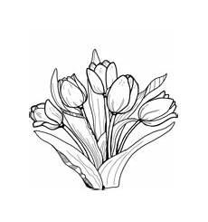 Malvorlagen Kostenlos Tulpen Ausmalbilder Tulpe Malvorlagen Kostenlos Zum Ausdrucken