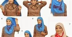Cara Memakai Model Jilbab Segitiga Simple Modern Dan Syar I