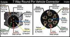 Wiring Diagram For 7 Way Pin Trailer And Vehicle