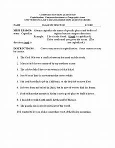 capitalizing places worksheets 15962 capitalization of geographic places worksheet for 2nd 3rd grade lesson planet