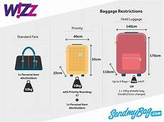 cabin baggage wizzair wizz air baggage allowance 2019 for luggage hold