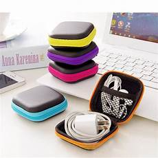 Weaving Storage Earphone Cable Charger Protective by 2019 Fffas Earphone Wire Storage Box Zipper Protective Usb