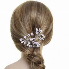 Pic Pour Chignon De Mari 233 E Petites Perles Blanche