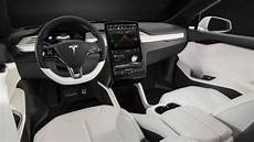 2018 Tesla Model X Interior Overview Amazing