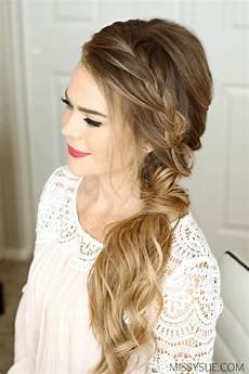 Braid To The Side Hairstyles