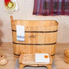 vasca da bagno portatile botte di legno portatile vasca con sedile vasca da bagno