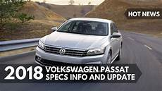 news 2018 volkswagen passat specs info and update