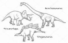 Dinosaurier Arten Ausmalbilder Gravura De Linha Fina Estilo Ilustra 231 245 Es V 225 Rios Tipos De