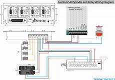 G540 Spindle And Relay Wiring Diagram The