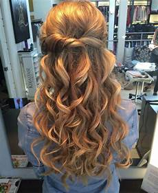 prom hairstyles for short hair half up half down hair