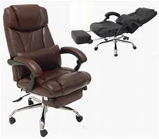 Office Chairs That Recline by Leather Reclining Office Chair W Footrest Office Chairs