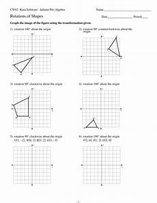 probability worksheets with answers kuta software 5929 rotations of shapes
