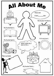 all about me worksheet first day of school activity first day of school activities school