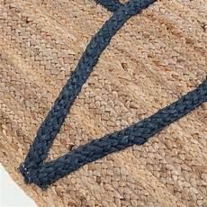 tapis naturel beige et bleu 160x230cm noha grand tapis