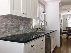 Kitchen Backsplash Black Countertop by Builddirect Granite Countertops Black Galaxy Kitchen