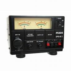 Alimentation Maas Sps 50 Ii Produit Arrete Radio