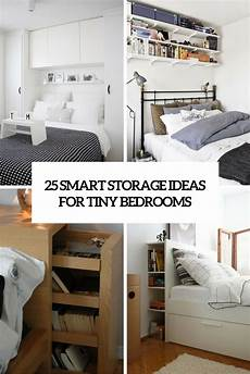 Tiny House Bedroom Storage Ideas by 25 Smart Storage Ideas For Tiny Bedrooms Shelterness