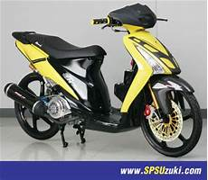 Suzuki Spin Modif by Suzuki Motorcycle Modification Modifikasi Suzuki Spin