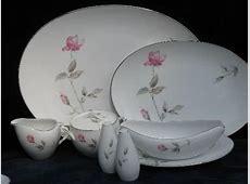 Dawn Rose pink floral Japan china vintage dinnerware