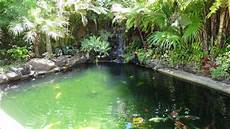 landscaped koi pond youtube