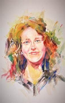 keep smiling painting by khalid saeed