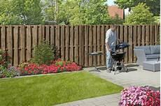 Gartenzaun Billig Kaufen - sichtschutzzaun quot bohlen natur quot sichtschutz gartenzaun
