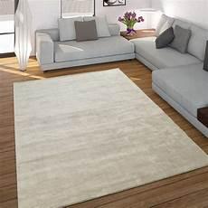 teppich creme teppich handgefertigt cord optik creme teppichcenter24