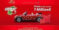 Mon Cheri Auto Gewinnspiel Deine Gl 252 Ckskirsche 2018