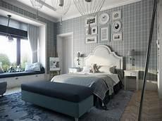 Schlafzimmer Tapete Modern - calming modern interiors