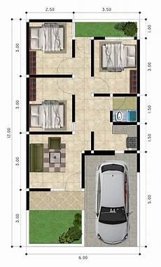 33 Koleksi Desain Denah Rumah 3 Kamar Tidur Modern Dan