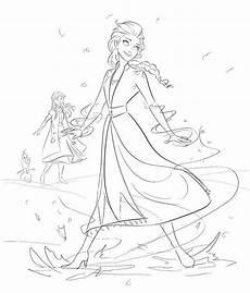 Elsa Malvorlagen Instagram Another Frozen 2 Sketch By