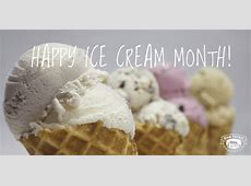 national ice cream month 2020