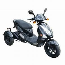 pgo tr3 trike dreirad roller scooter 25 km h schwarz