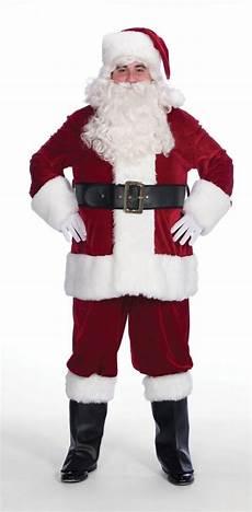 halco burgundy velveteen santa claus suit jacket 58 62