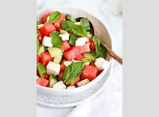 cucumber and watermelon salad with hoisin lime dressing_image
