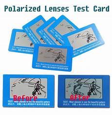 2019 wholesale polarized lenses test card for glasses