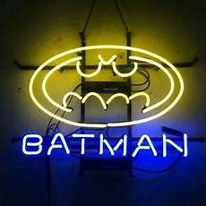 17 quot x14 quot batman neon sign light home theater hallway wall hanging real glass ebay
