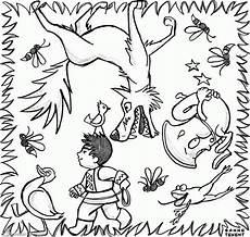 ausmalbilder und der wolf