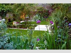 Modern Town Garden Design   North Facing Garden Design