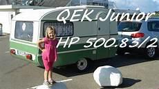 qek junior hp 500 83 2 der beste wohnwagen
