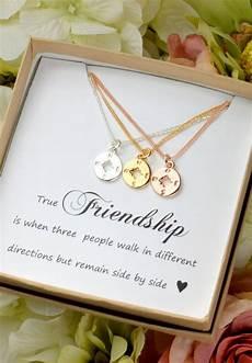 Best Friend Gift Gold Compass Necklace Best Friend