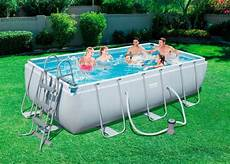bestway set 187 frame pool quot power steel quot 404x201x100 cm