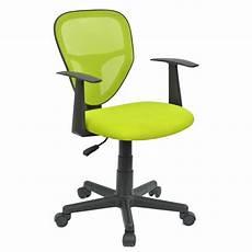 chaise bureau enfant chaise de bureau pour enfant studio vert mobil meubles