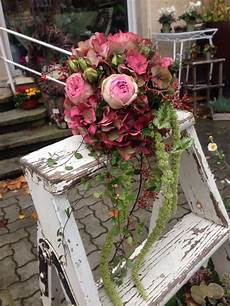 Brautstrauß Hortensien Und - herbstlicher biedermeier mit hortensie und