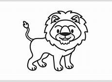 Kleurplaat leeuw   Afb 17574. Images