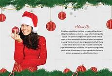 editable merry christmas postcard template in adobe photoshop