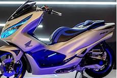 Modifikasi Motor Pcx 2018 by Modif Honda Pcx 150 Futuristik Tekno Informasi Otomotif