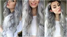 dark green hair turquoise without bleach how to get silver hair without bleach at home naturally youtube