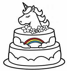 Malvorlagen Unicorn Cake Free Coloring Sheets Coloring Coloring