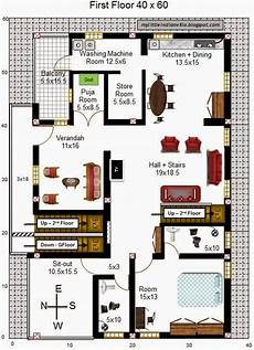 north facing duplex house plans my little indian villa 32 r25 3bhk duplex in 40x60 west